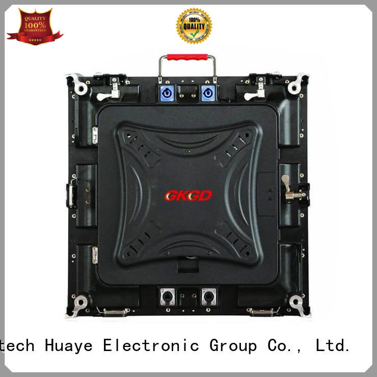 GKGD p10 smd led screen manufacturers for stage